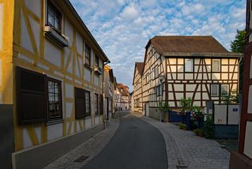 Altstadt von Babenhausen, Hessen, Deutschland