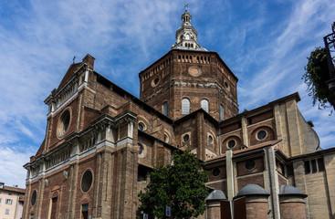 Renaissance Catholic Cathedral of Pavia (Duomo di Pavia), Lombardy, Italy
