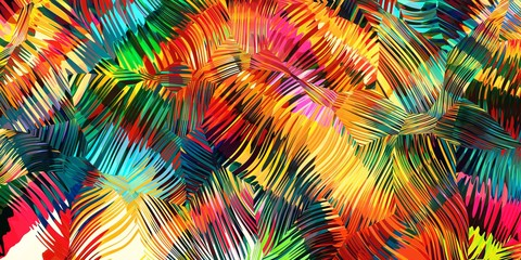 abstract colorful background of line and color Fotoväggar