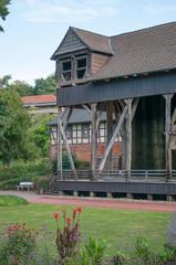 Gradierwerk im Kurpark von Bad Salzdetfurth