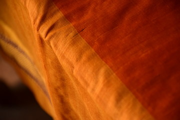 Abstract Orange fabric wallpaper