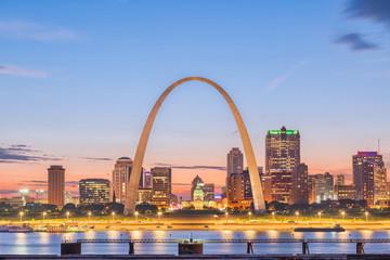 St. Louis, Missouri, USA Skyline Wall mural