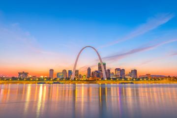 Wall Mural - St. Louis, Missouri, USA Skyline