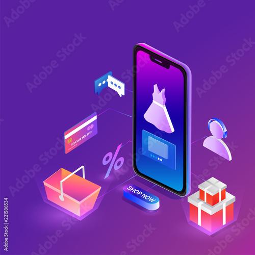 fefa0fe2e2c Online shopping concept