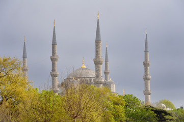 Istanbul, the Blue Mosque