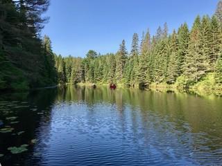 Canada Ontario Algonquin Natural Park Parc Naturel Lac Sauvage Camping Tourisme Nature