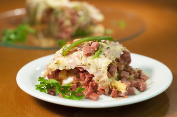 calabresa sandwich gourmet