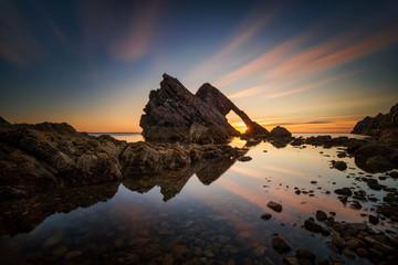 Fiddle Rock sunrise