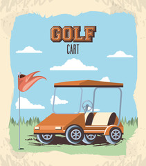 golf cart in the club