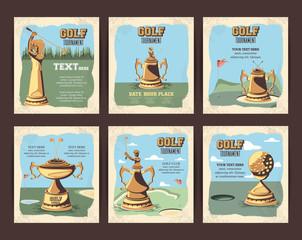 set trophies golf tournament