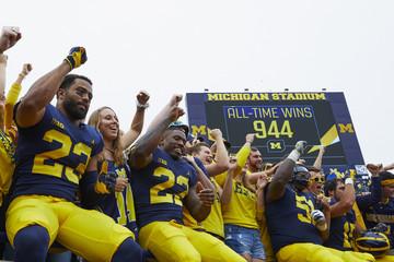 NCAA Football: Western Michigan at Michigan