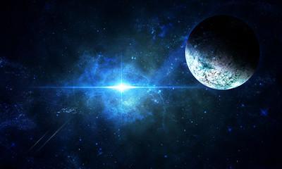 звезда в космосе