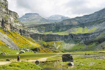 Ordesa national park in Huesca, Spain