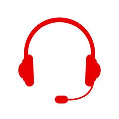 Headphone icon – stock vector