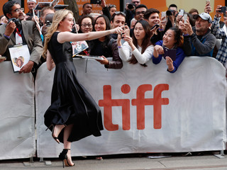 Actor Kathryn Newton arrives for the world premiere of Ben is Back at the Toronto International Film Festival (TIFF) in Toronto