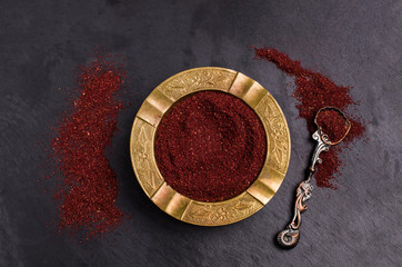 Traditional asian spice sumac