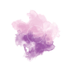 hand drawing watercolor background vector