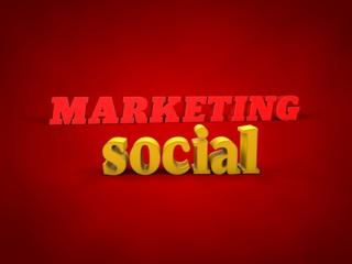 Marketing, Social - 3D Design, Word and alphabet Images