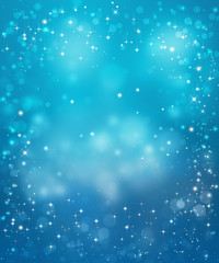 beautiful blue festive background