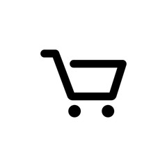 Cart vector icon isolated on background. Trendy sweet symbol. Pixel perfect. illustration EPS 10.