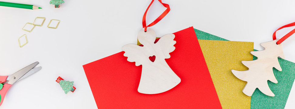 New Year or Christmas decoration gifts DIY