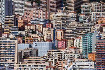 Monaco Principality Abstract Urban Landscape In Europe