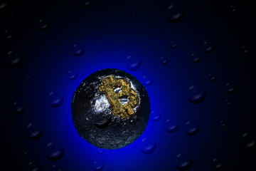Bitcoin bubble,crash,decline,cross and collapse