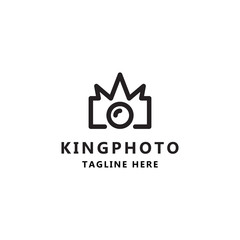 King photography icon logo