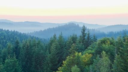 View of the mountains, Skhodnitsa, Ukraine