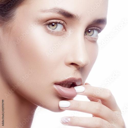 Finger Mädchen Mund nackt, Bilder von Emma Watsons Muschi