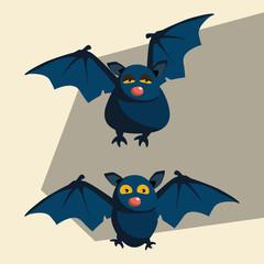 bats vector illustration