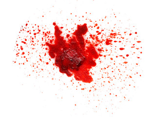 Texture of a bloody wound