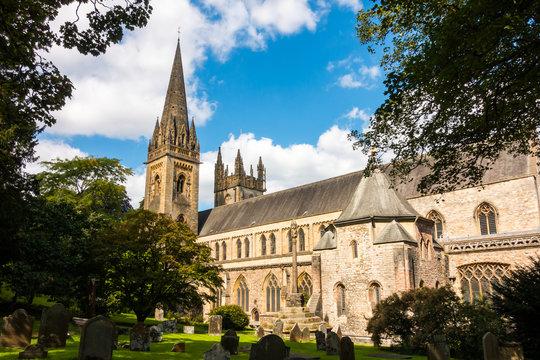 LLandaff Cathedral in Cardiff, Wales