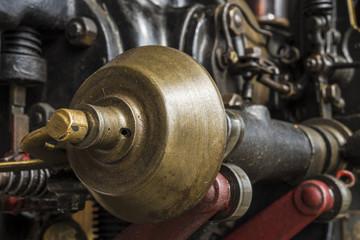 Nockenwelle eines historischen Motors.