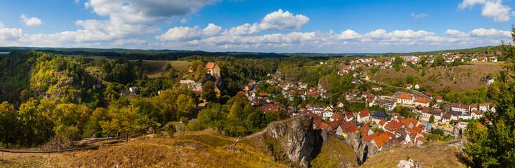 Panorama von Pottenstein, Oberfranken