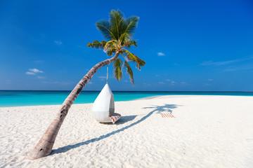 Beautiful tropical beach in Maldives Fototapete