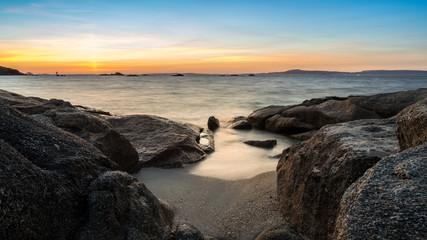 paisaje de la Isla de Arousa, Galicia