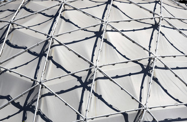 Detail of geodesic dome