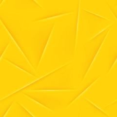 Abstract seamless pattern in yellow colors