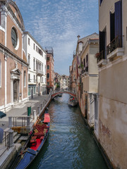 Venice, Italy, Venetian Canals in summer