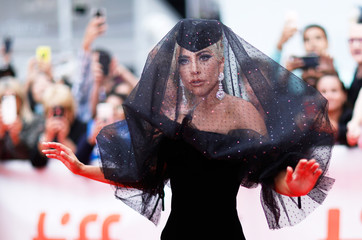 Actor Lady Gaga arrives for the world premiere of A Star is Born at the Toronto International Film Festival (TIFF) in Toronto