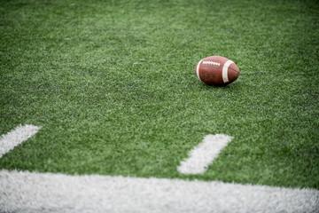 football on turf