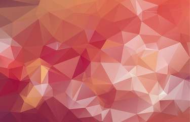 Multicolor geometric rumpled triangular low poly origami style gradient illustration graphic background. Vector polygonal design for your business.