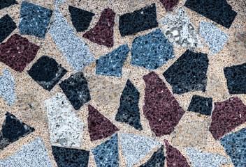 Mosaik Steinplatten