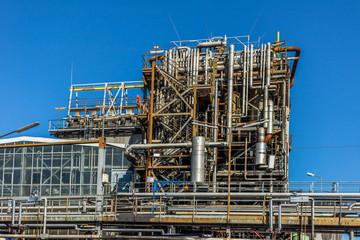 Rohre einer Chemie Anlage