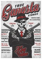 Gangsta magazine concept