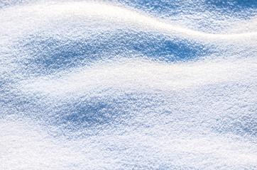 Beautiful fresh snow pattern in minimalistic style
