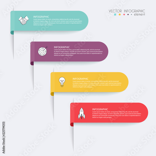 Vector info graphics for your business presentations can be used vector info graphics for your business presentations can be used for website layout numbered ccuart Choice Image