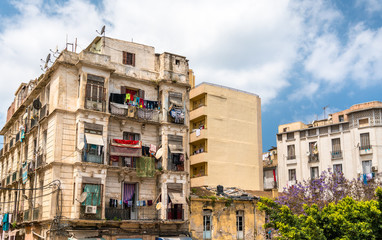 Buildings in Oran, a major city in Algeria