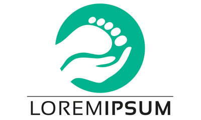 Pedicure Foot Care Logo Design
